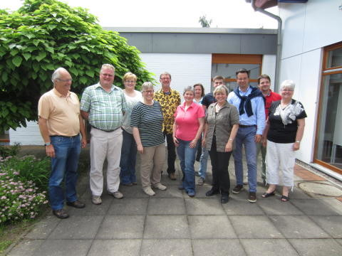 Teilnehmer des CMS Seminares in Springe