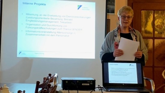Frau Sigrun Brünig, Gleichstellungsbeauftragte LK HOL